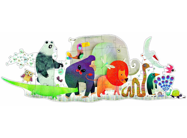 DJECO Пазл – гигант «Животные», фото