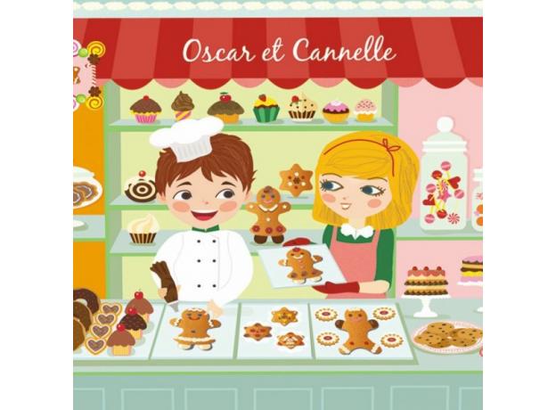 DJECO Набор сюжетно-ролевой игры Печенье Оскара и Канэль, фото , изображение 2