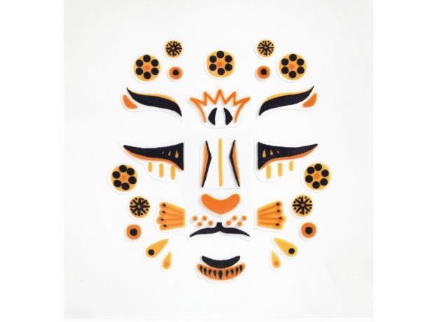 DJECO Наклейки для лица Леопард 09216, фото , изображение 2