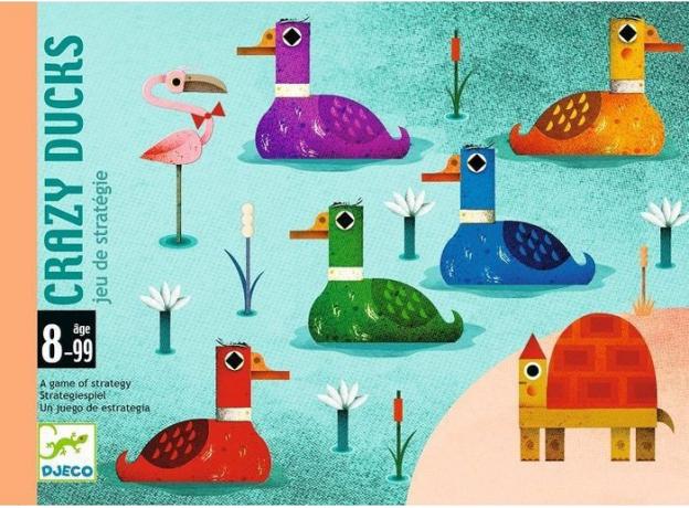 DJECO Настольная игра -   Безумные утки, фото