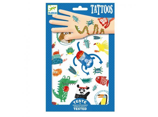 DJECO Татуировки Животные, фото