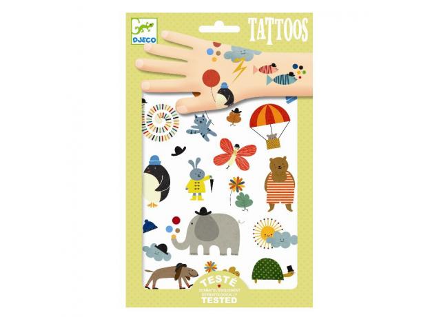 DJECO Татуировки Забавные мелочи 09579, фото