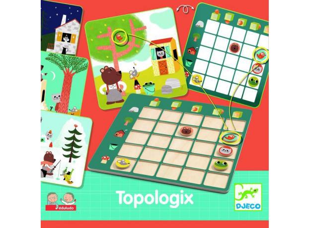 DJECO Настольная игра логическая Топологик, фото , изображение 3