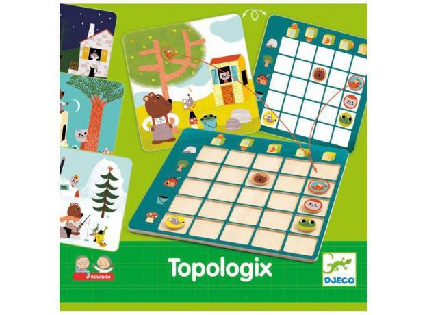 DJECO Настольная игра логическая Топологик, фото , изображение 4