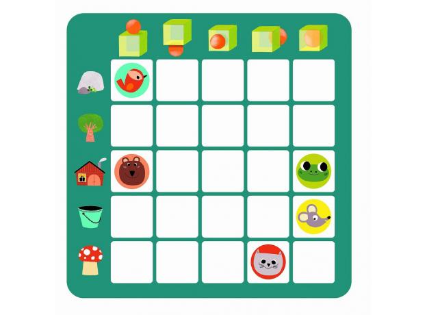 DJECO Настольная игра логическая Топологик, фото , изображение 7