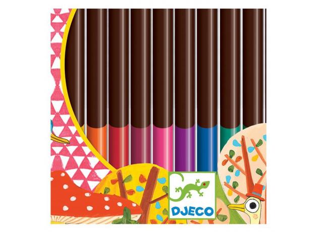DJECO Цветные карандаши 24 шт. 09752, фото , изображение 3