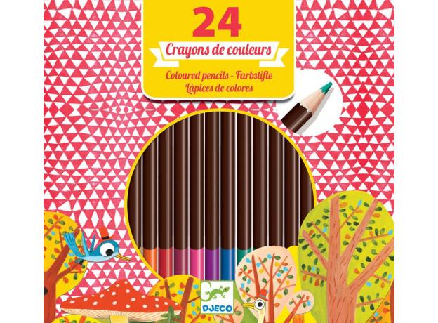 DJECO Цветные карандаши 24 шт. 09752, фото