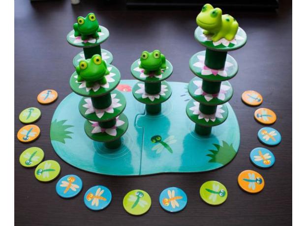 DJECO Настольная игра «Лягушачий балансир» 08554, фото , изображение 2