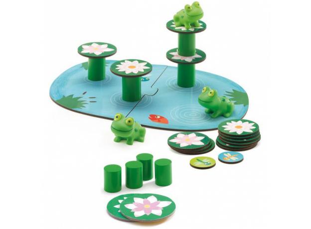 DJECO Настольная игра «Лягушачий балансир» 08554, фото , изображение 4
