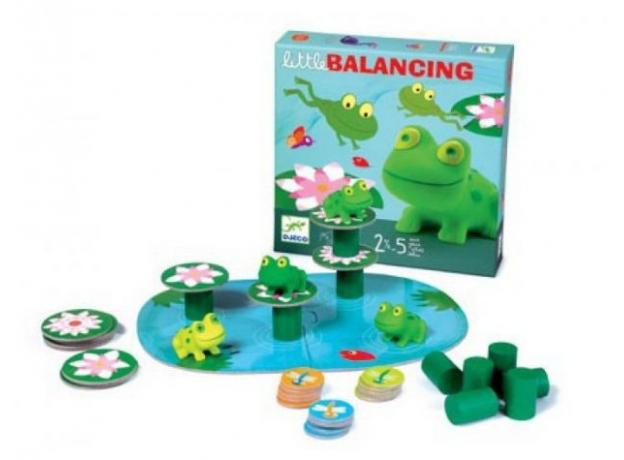 DJECO Настольная игра «Лягушачий балансир» 08554, фото , изображение 5