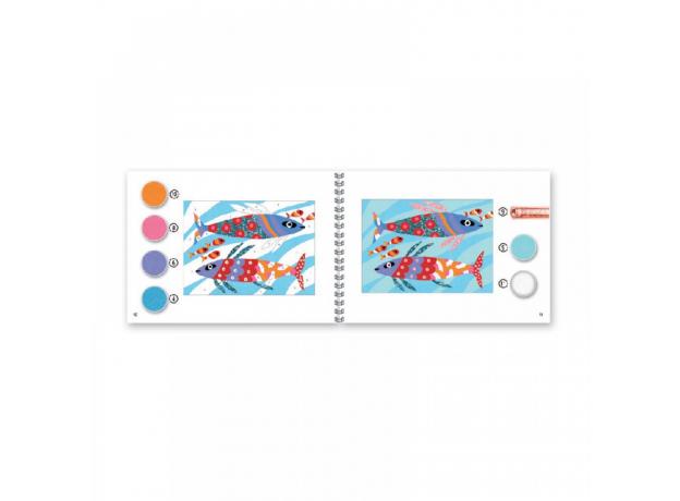 DJECO Набор цветного песка Радужные рыбки 08661, фото , изображение 5