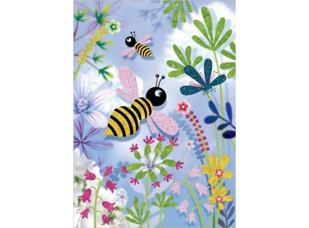 "DJECO Раскраска ""Блестящие бабочки"", фото , изображение 4"