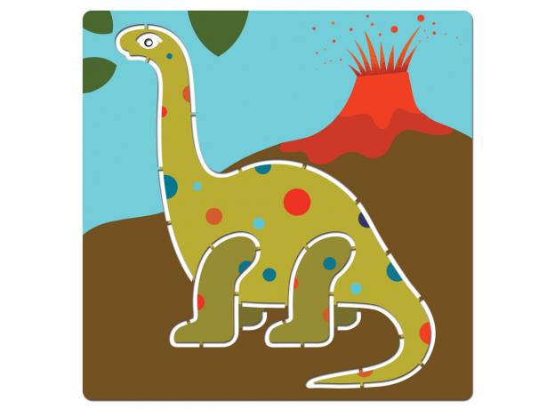 DJECO Набор трафаретов Динозавры 08863, фото , изображение 2