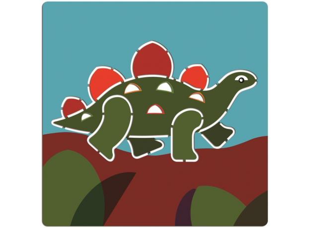 DJECO Набор трафаретов Динозавры 08863, фото , изображение 6