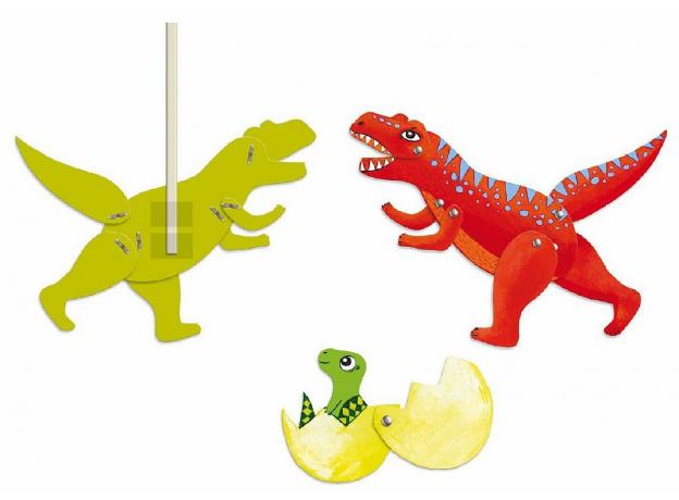 """DJECO Набор куколок """"Динозавры"""" 09680, фото , изображение 3"""