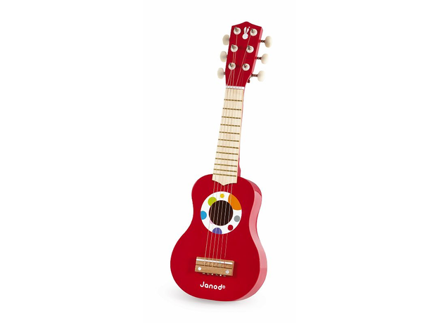 Гитара Janod красная, фото