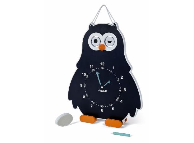 Часы двусторонние Janod «Сова», фото , изображение 4