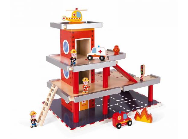 Игровой набор Janod «Пожарная станция» большой, фото