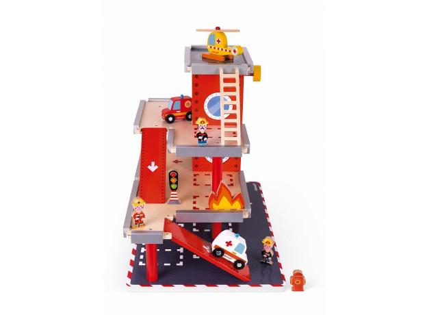 Игровой набор Janod «Пожарная станция» большой, фото , изображение 4