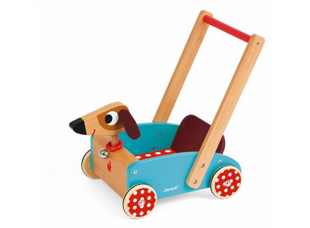 Тележка-ходунки Janod «Озорная собачка», фото , изображение 2