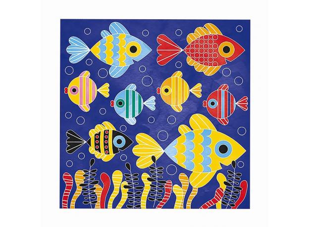 Набор для творчества Janod рисуем водой. «Подводное царство», 6 карточек, фото , изображение 8