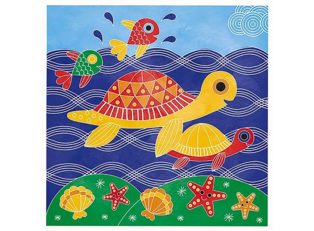 Набор для творчества Janod рисуем водой. «Подводное царство», 6 карточек, фото , изображение 9