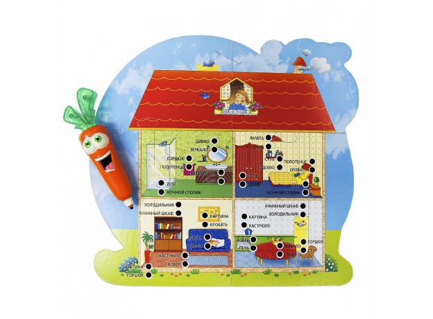 R42418 Обучающая игра ЛАБОРАТОРИЯ 20 ИГР с интерактивной Морковкой, фото , изображение 5