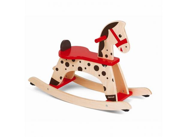 Лошадка - качалка Janod «Карамель», фото , изображение 4