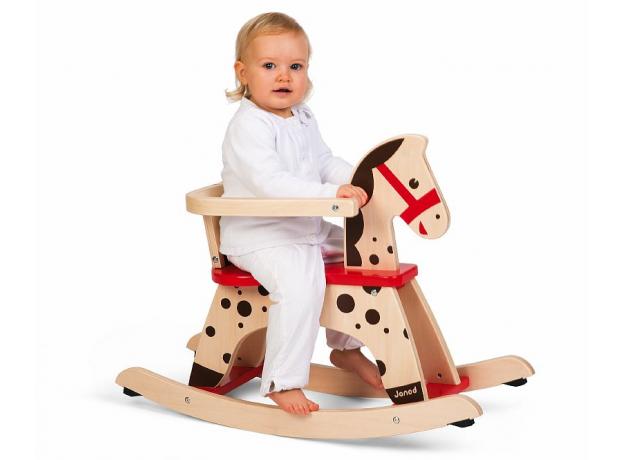 Лошадка - качалка Janod «Карамель», фото , изображение 5