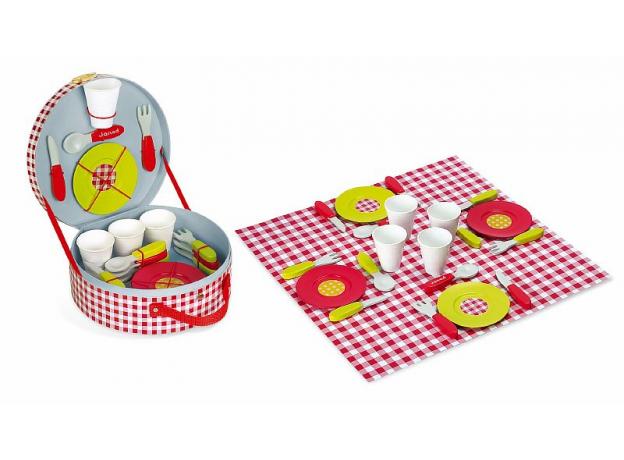 Набор посуды Janod «Пикник», 21 элементов, фото , изображение 3