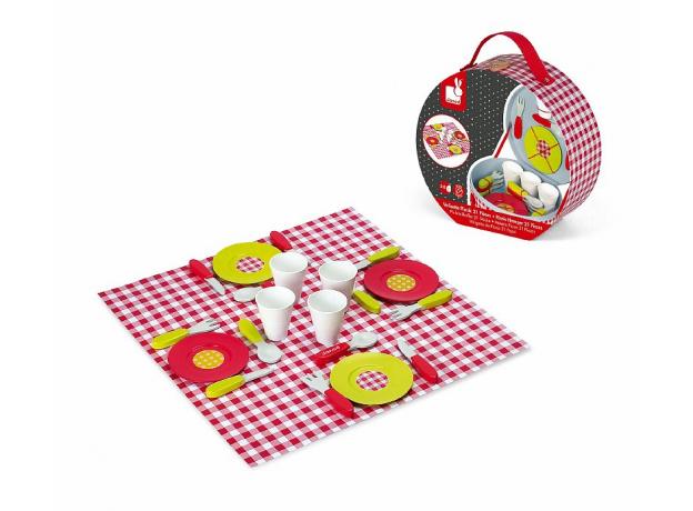 Набор посуды Janod «Пикник», 21 элементов, фото , изображение 4