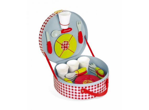 Набор посуды Janod «Пикник», 21 элементов, фото