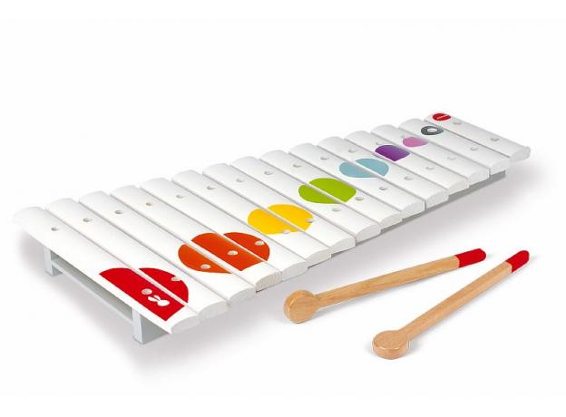 Большой ксилофон Janod, деревянный, 15 нот, фото , изображение 2