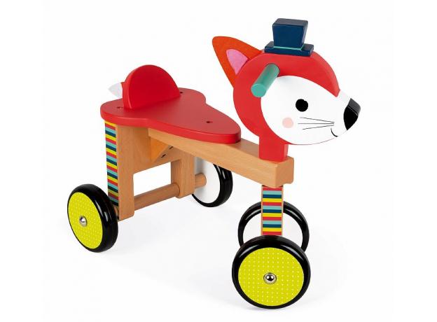 Каталка на колёсиках Janod «Лисичка», фото , изображение 5