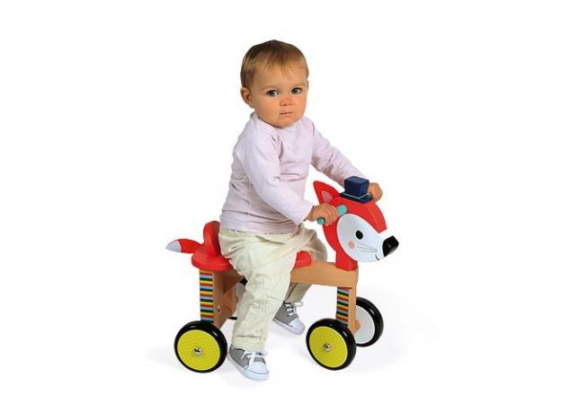 Каталка на колёсиках Janod «Лисичка», фото