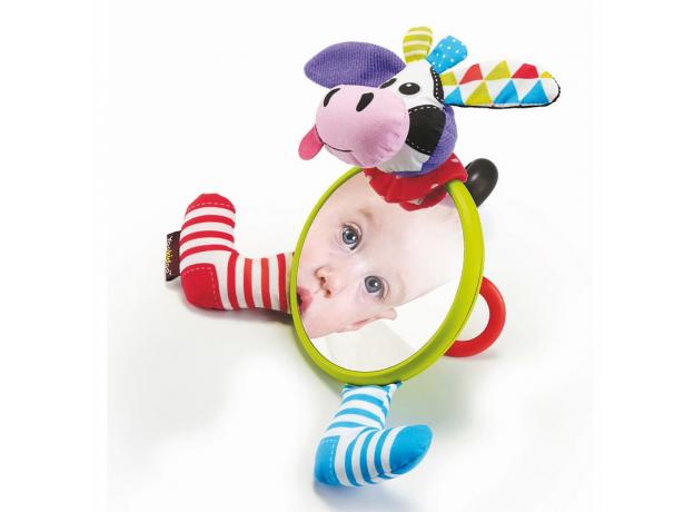 Игрушка-зеркальце Yookidoo «Коровка», фото