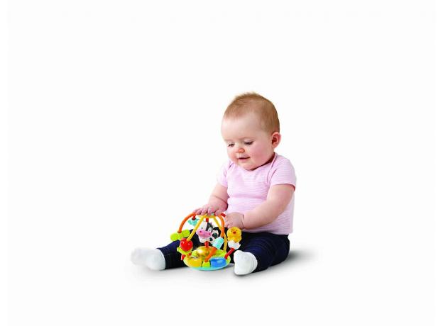"""VTECH Развивающий мяч """"Тряси и крути"""", фото , изображение 2"""
