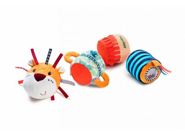 Многофункциональная игрушка Lilliputiens «Лев Джек», фото , изображение 2