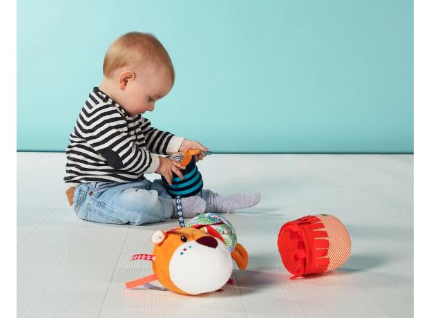 Многофункциональная игрушка Lilliputiens «Лев Джек», фото , изображение 5