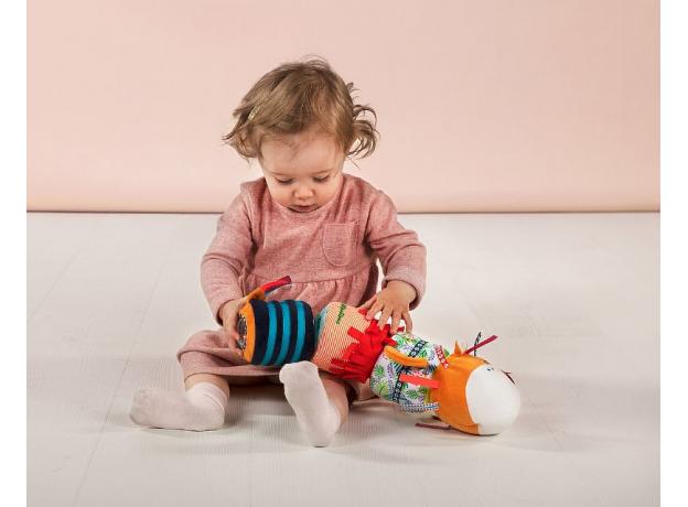 Многофункциональная игрушка Lilliputiens «Лев Джек», фото , изображение 7
