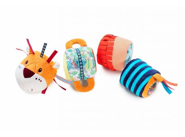 Многофункциональная игрушка Lilliputiens «Лев Джек», фото , изображение 10