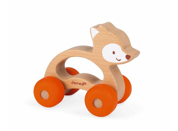 Каталка для малышей Janod «Лисичка», фото