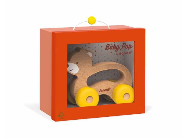 Каталка для малышей Janod «Медвежонок», фото , изображение 2