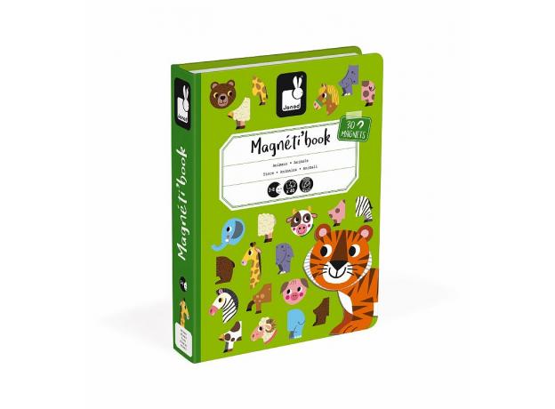 Книга-игра Janod «Животные» магнитная, фото , изображение 2