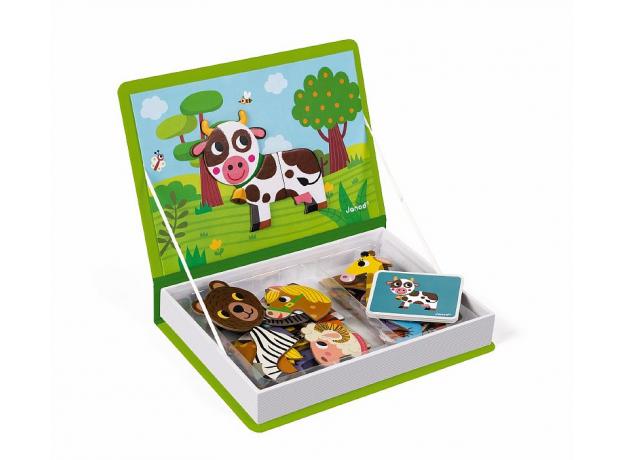 Книга-игра Janod «Животные» магнитная, фото , изображение 4