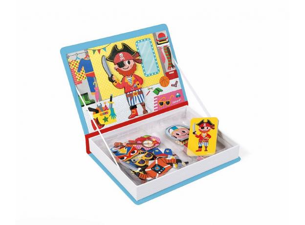 Книга-игра Janod «Мальчики в костюмах» магнитная, фото , изображение 4