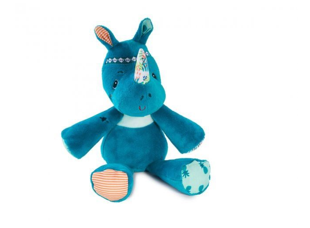 Мягкая игрушка Lilliputiens «Носорог Мариус»; подарочная упаковка, фото , изображение 3