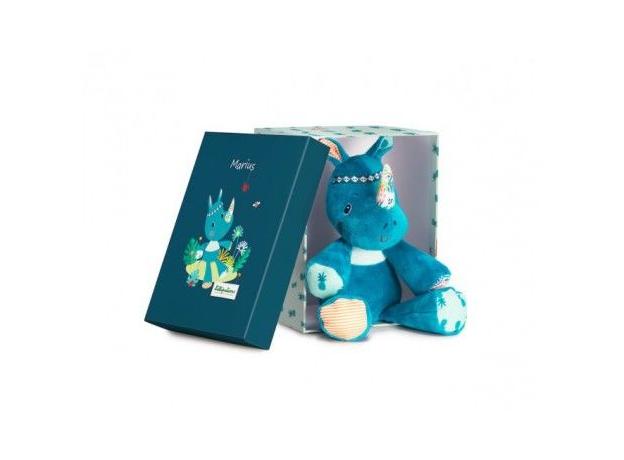 Мягкая игрушка Lilliputiens «Носорог Мариус»; подарочная упаковка, фото , изображение 2