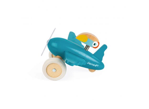 Каталка-самолет для малышей Janod «Диего», фото , изображение 4