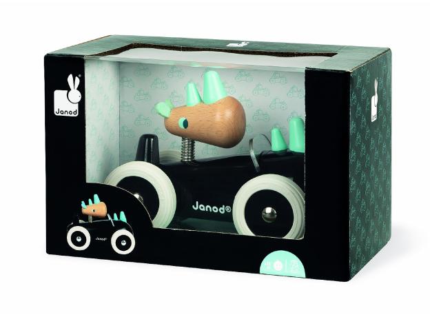 Каталка-машинка для малышей Janod «Рони», фото , изображение 2